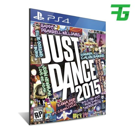 JUST DANCE 2015 PS4 - MÍDIA DIGITAL