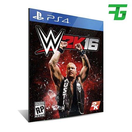 WWE 2K16 PS4 - MÍDIA DIGITAL