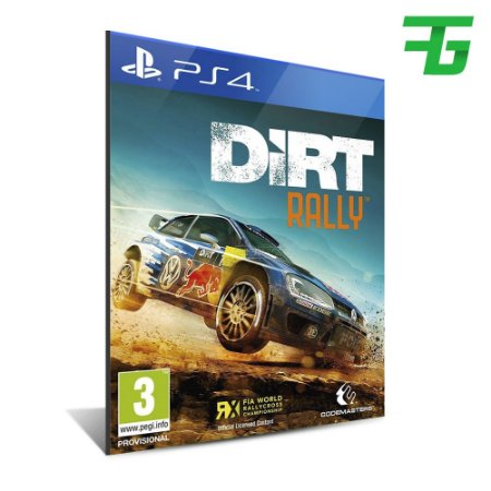 DIRT RALLY PS4 - MÍDIA DIGITAL