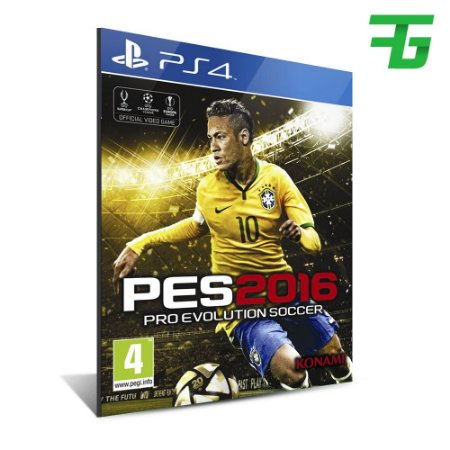 PES 16 PS4 - MÍDIA DIGITAL