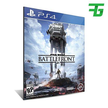 STAR WARS BATTLEFRONT PS4 - MÍDIA DIGITAL