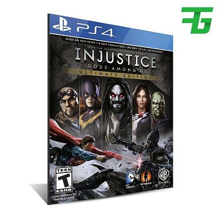 INJUSTICE GODS AMONG US ULTIMATE EDITION PS4 - MÍDIA DIGITAL