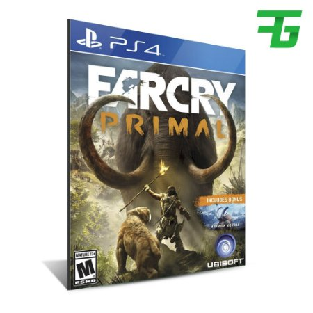 FAR CRY PRIMAL PS4 - MÍDIA DIGITAL