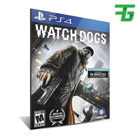 WATCH DOGS PS4 - MÍDIA DIGITAL
