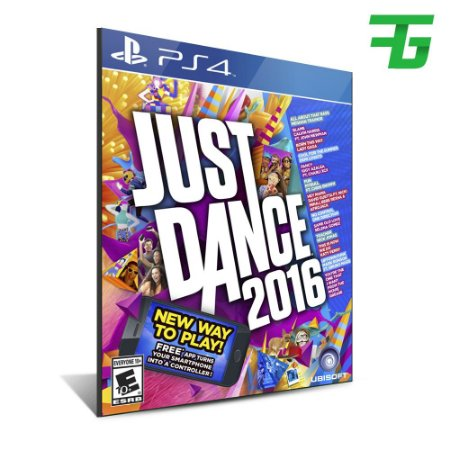 JUST DANCE 2016 PS4 - MÍDIA DIGITAL