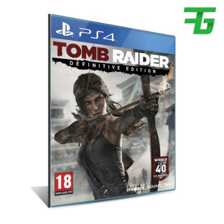 TOMB RAIDER DEFINITIVE EDITION PS4 - MÍDIA DIGITAL