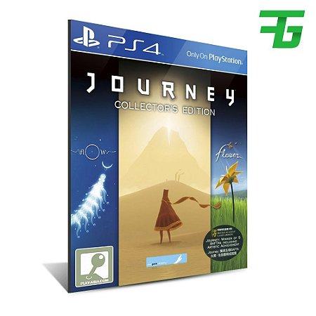 JOURNEY COLLECTOR'S EDITION PS4 - MÍDIA DIGITAL