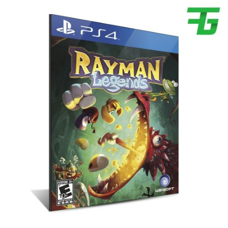 RAYMAN LEGENDS PS4 - MÍDIA DIGITAL