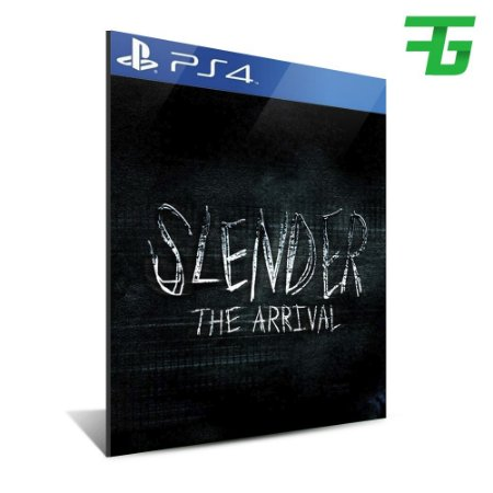 SLENDER THE ARRIVAL PS4 - MÍDIA