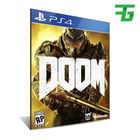DOOM PS4 - MÍDIA DIGITAL