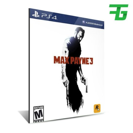 MAX PAYNE PS4 - MÍDIA DIGITAL