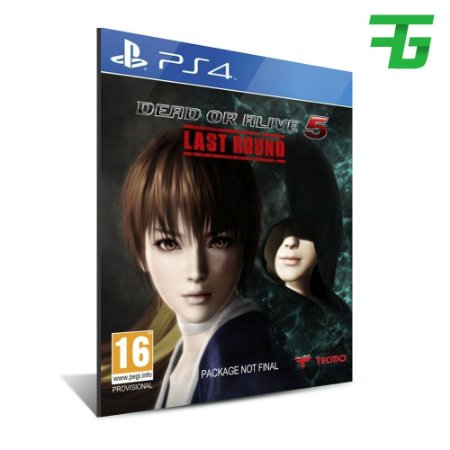 DEAD OR ALIVE 5 LAST ROUND PS4 - MÍDIA DIGITAL