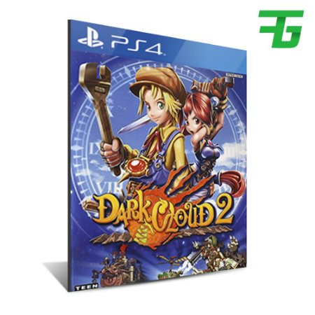 DARK CLOUD 2 PS4 - MÍDIA DIGITAL