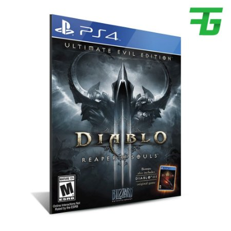 DIABLO 3 REAPER OF SOULS ULTIMATE EVIL EDITION (INGLÊS) PS4 - MÍDIA DIGITAL