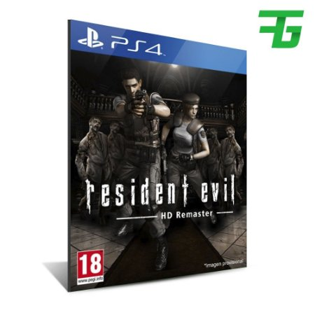 RESIDENT EVIL HD REMASTER PS4 - MÍDIA DIGITAL