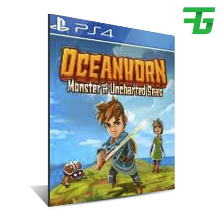OCEANHORN - MONSTER OF UNCHARTED SEAS PS4 - MÍDIA DIGITAL