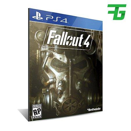 FALLOUT 4 PS4 - MÍDIA DIGITAL