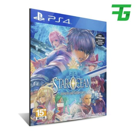 STAR OCEAN: INTEGRITY AND FAITHLESSNESS PS4 - MÍDIA DIGITAL