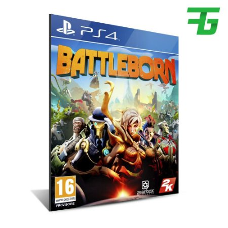BATTLEBORN PS4 - MÍDIA DIGITAL