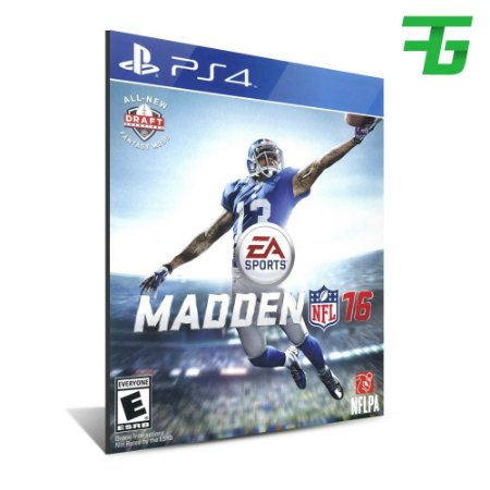 MADDEN NFL 16 STANDARD EDITION PS4 - MÍDIA DIGITAL