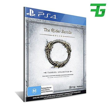 THE ELDER SCROLLS ONLINE TAMRIEL UNLIMITED PS4 - MÍDIA DIGITAL