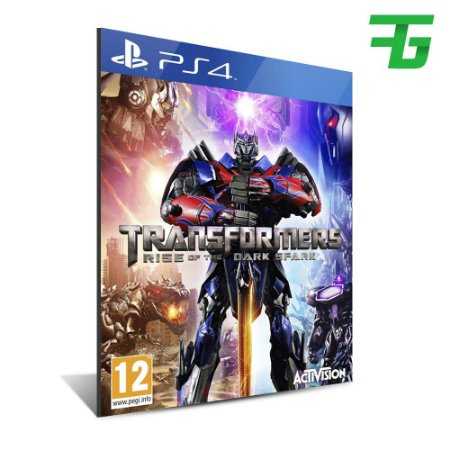 TRANSFORMERS RISE OF THE DARK SPARK PS4 - MÍDIA DIGITAL