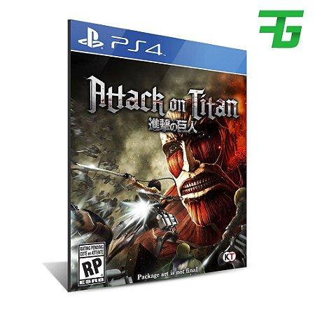 ATTACK ON TITAN PS4 - MÍDIA DIGITAL