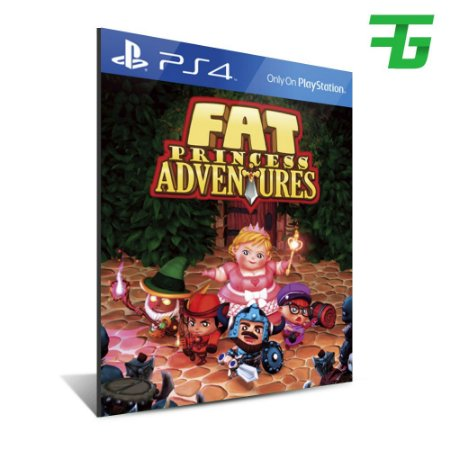 FAT PRINCESS ADVENTURES PS4 - MÍDIA DIGITAL
