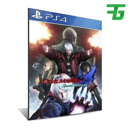 DEVIL MAY CRY 4 SPECIAL EDITION DEMON HUNTER BUNDLE PS4 - MÍDIA DIGITAL