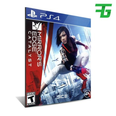 MIRROR'S EDGE CATALYST PS4 - MÍDIA DIGITAL