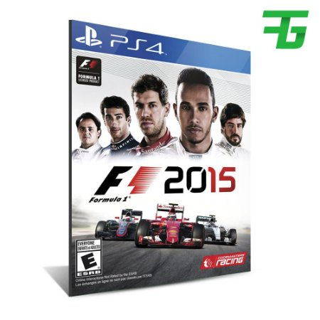 F1 2015 PS4 - MÍDIA DIGITAL