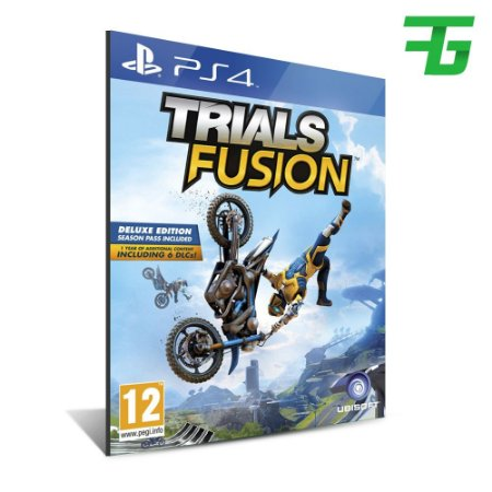 TRIALS FUSION PS4 - MÍDIA DIGITAL