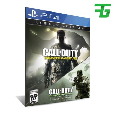 CALL OF DUTY: INFINITE WARFARE - LEGACY EDITION PS4 - MÍDIA DIGITAL
