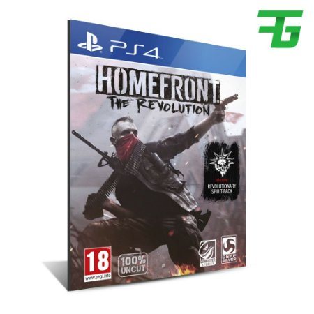 HOMEFRONT: THE REVOLUTION PS4 - MÍDIA DIGITAL