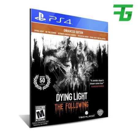 DYING LIGHT: THE FOLLOWING - ENHANCED EDITION PS4 - MIDIA DIGITAL