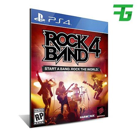 ROCK BAND 4 PS4 - MÍDIA DIGITAL