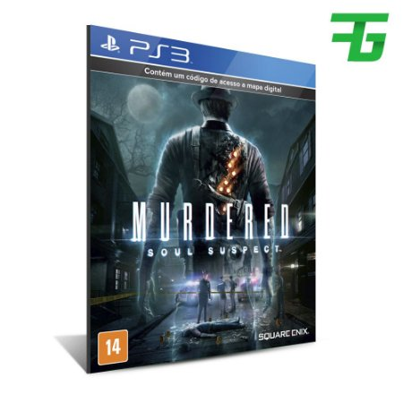 MURDERED SOUL SUSPECT PS4 - MÍDIA DIGITAL