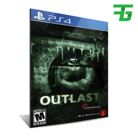 OUTLAST PS4 - MÍDIA DIGITAL
