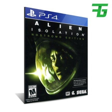 ALIEN ISOLATION PS4 - MÍDIA DIGITAL