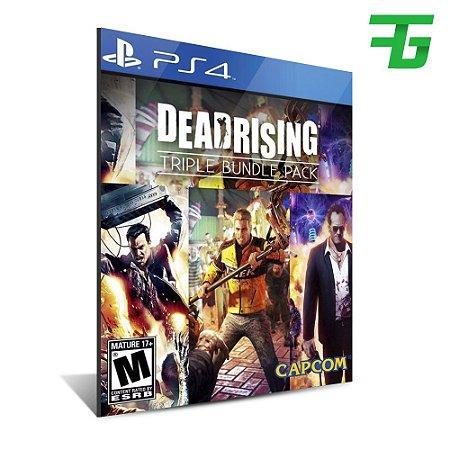 DEAD RISING TRIPLE PACK PS4 - MÍDIA DIGITAL