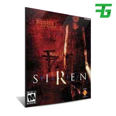 SIREN PS4 - MÍDIA DIGITAL