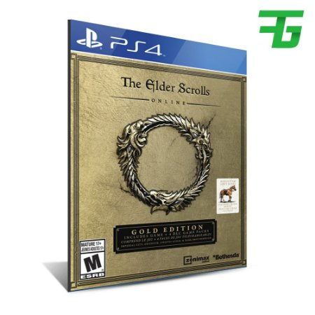 THE ELDER SCROLLS ONLINE: GOLD EDITION PS4 - MÍDIA DIGITAL