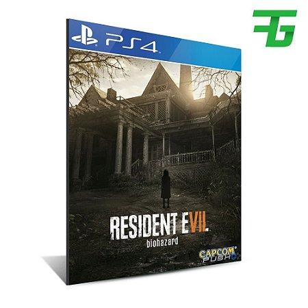 Resident Evil 7 - Mídia Digital - Playstation 4