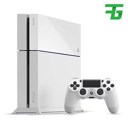 Console sony playstation-4 slim branco 500gb americano + Nf + Envio Todo brasil!