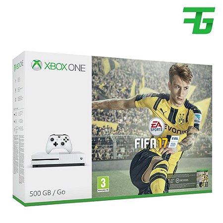 CONSOLE XBOX ONE S 500GB BUNDLE FIFA 17