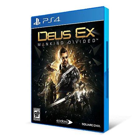 DEUS EX  - MÍDIA FÍSICA - PS4