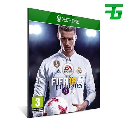 FIFA 18 Edição Standart Código 25 dígitos