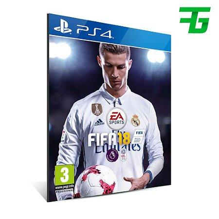 FIFA 18 - MÍDIA DIGITAL - PS4