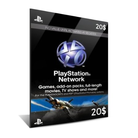 PSN CARD $20 DÓLARES