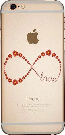 Capinha para celular - Love Infinito